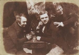 Salzdruck-Fotografie aus dem Jahr 1844 Bild: Wiki Commons