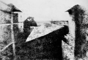 Das älteste überlieferte Foto Bild: Wiki Commons