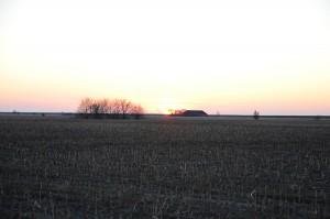 So sollte ein Sonnenuntergang nicht aussehen