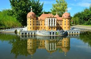 Jagdschloss Moritzburg in Rügenpark