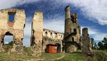 Burg Zviretice - Panorama